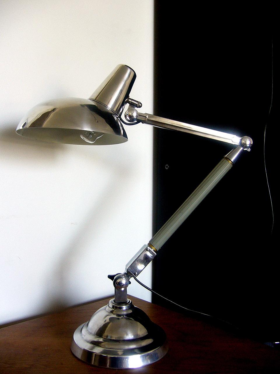 Lampe de bureau des annees 50 at bertrand legrix for Lampe de bureau annee 50